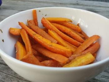 Gegrilde worteltjes