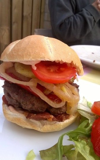 Hamburger, gezond en lekker!