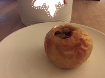 Gepofte appel van Elise