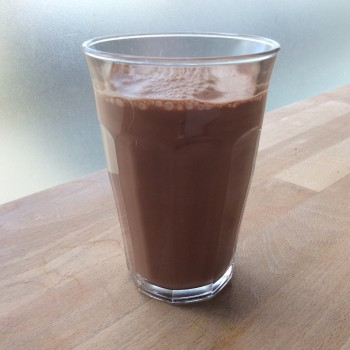 Chocolade havermout drank