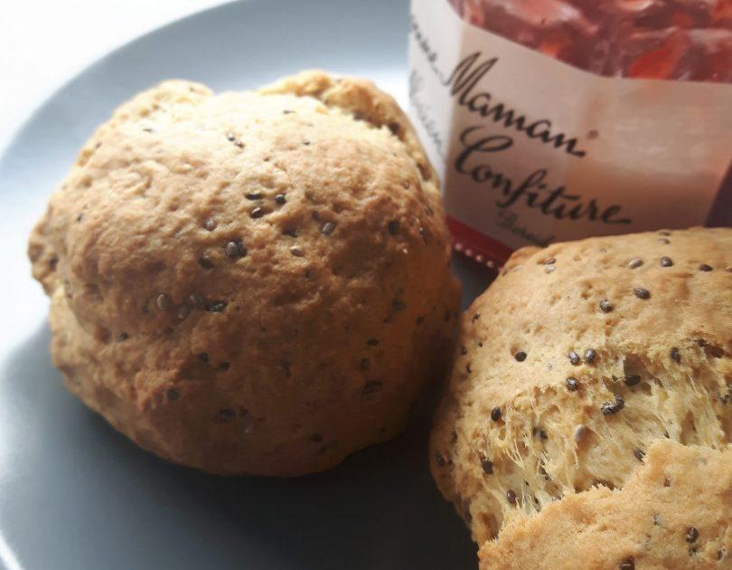 Elise's scones met amandelmeel