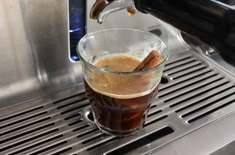 Kerst koffie (zwart)